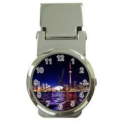 Toronto City Cn Tower Skydome Money Clip Watches