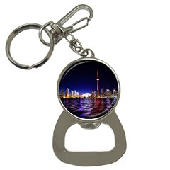 Toronto City Cn Tower Skydome Button Necklaces