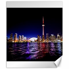 Toronto City Cn Tower Skydome Canvas 8  x 10