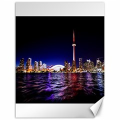 Toronto City Cn Tower Skydome Canvas 12  x 16