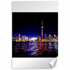Toronto City Cn Tower Skydome Canvas 12  x 18