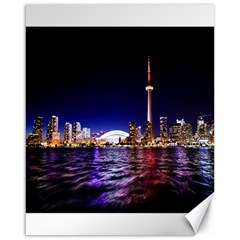 Toronto City Cn Tower Skydome Canvas 16  x 20
