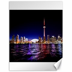 Toronto City Cn Tower Skydome Canvas 18  x 24