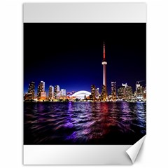 Toronto City Cn Tower Skydome Canvas 36  x 48