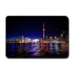 Toronto City Cn Tower Skydome Small Doormat