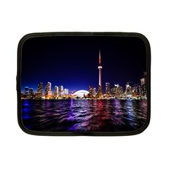 Toronto City Cn Tower Skydome Netbook Case (Small)