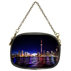 Toronto City Cn Tower Skydome Chain Purses (One Side)