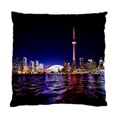 Toronto City Cn Tower Skydome Standard Cushion Case (Two Sides)