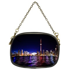 Toronto City Cn Tower Skydome Chain Purses (Two Sides)