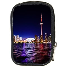 Toronto City Cn Tower Skydome Compact Camera Cases