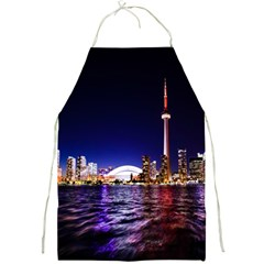 Toronto City Cn Tower Skydome Full Print Aprons