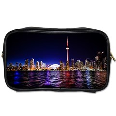 Toronto City Cn Tower Skydome Toiletries Bags 2-Side