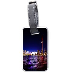 Toronto City Cn Tower Skydome Luggage Tags (Two Sides)