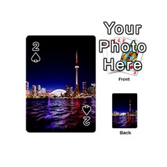 Toronto City Cn Tower Skydome Playing Cards 54 (Mini)