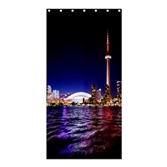 Toronto City Cn Tower Skydome Shower Curtain 36  x 72  (Stall)