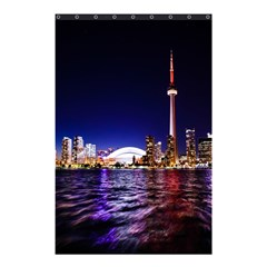 Toronto City Cn Tower Skydome Shower Curtain 48  x 72  (Small)