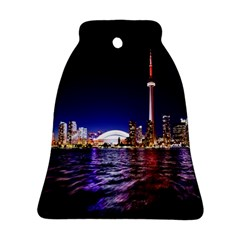 Toronto City Cn Tower Skydome Bell Ornament (Two Sides)