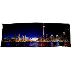 Toronto City Cn Tower Skydome Body Pillow Case Dakimakura (Two Sides)
