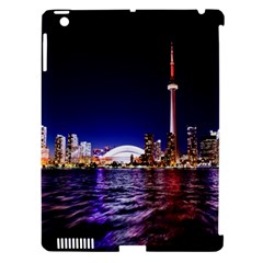 Toronto City Cn Tower Skydome Apple iPad 3/4 Hardshell Case (Compatible with Smart Cover)