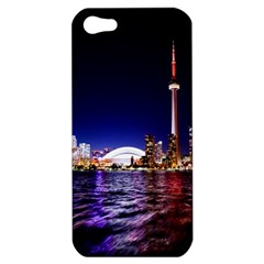 Toronto City Cn Tower Skydome Apple iPhone 5 Hardshell Case