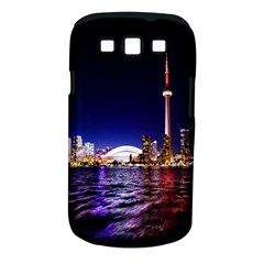 Toronto City Cn Tower Skydome Samsung Galaxy S III Classic Hardshell Case (PC+Silicone)