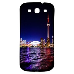 Toronto City Cn Tower Skydome Samsung Galaxy S3 S III Classic Hardshell Back Case