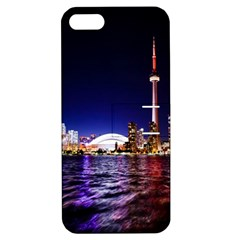 Toronto City Cn Tower Skydome Apple iPhone 5 Hardshell Case with Stand