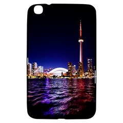 Toronto City Cn Tower Skydome Samsung Galaxy Tab 3 (8 ) T3100 Hardshell Case