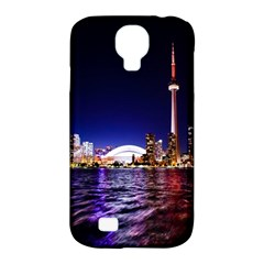 Toronto City Cn Tower Skydome Samsung Galaxy S4 Classic Hardshell Case (PC+Silicone)