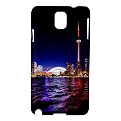 Toronto City Cn Tower Skydome Samsung Galaxy Note 3 N9005 Hardshell Case