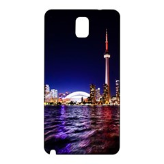 Toronto City Cn Tower Skydome Samsung Galaxy Note 3 N9005 Hardshell Back Case