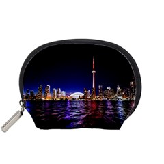 Toronto City Cn Tower Skydome Accessory Pouches (Small)