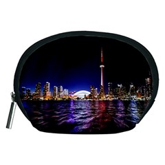 Toronto City Cn Tower Skydome Accessory Pouches (Medium)