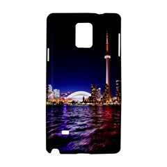 Toronto City Cn Tower Skydome Samsung Galaxy Note 4 Hardshell Case