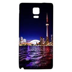 Toronto City Cn Tower Skydome Galaxy Note 4 Back Case