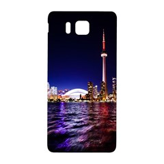 Toronto City Cn Tower Skydome Samsung Galaxy Alpha Hardshell Back Case