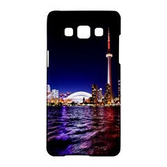 Toronto City Cn Tower Skydome Samsung Galaxy A5 Hardshell Case