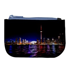 Toronto City Cn Tower Skydome Large Coin Purse