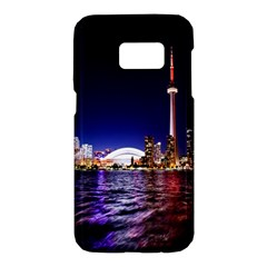 Toronto City Cn Tower Skydome Samsung Galaxy S7 Hardshell Case