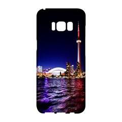 Toronto City Cn Tower Skydome Samsung Galaxy S8 Hardshell Case