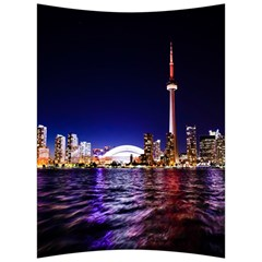 Toronto City Cn Tower Skydome Back Support Cushion
