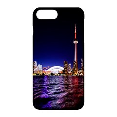 Toronto City Cn Tower Skydome Apple iPhone 8 Plus Hardshell Case
