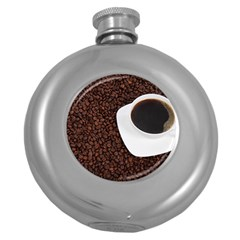 Coffee Round Hip Flask (5 Oz) by goodart