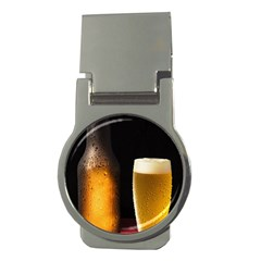 Cold Beer Money Clips (round)  by goodart