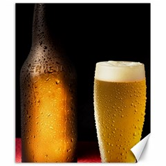 Cold Beer Canvas 20  X 24   by goodart