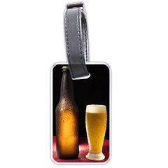 Cold Beer Luggage Tags (one Side)