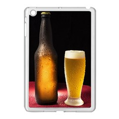 Cold Beer Apple Ipad Mini Case (white) by goodart
