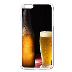 Cold Beer Apple Iphone 6 Plus/6s Plus Enamel White Case by goodart