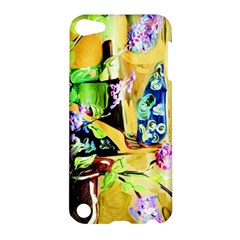 Lilac On A Countertop Apple Ipod Touch 5 Hardshell Case by bestdesignintheworld