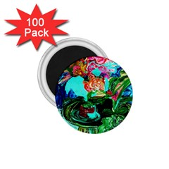 Flowers On The Tea Table 1 75  Magnets (100 Pack)  by bestdesignintheworld